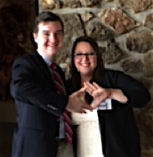 WJC DECA Co-founders Alex Blevins and Nichole Marquis